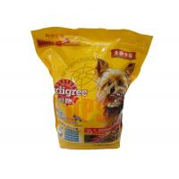 Cheap Pet Food Stand Up Pouch , Stand Bag With Zipper , Aluminium Laminated Material wholesale