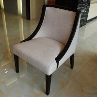 Buy cheap Wood Frame Fabric Accent Chair for Contemporary Luxury Dining Room Furniture from wholesalers