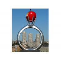 China Park Garden Decoration Stainless Steel Modern Monumental Sculptures wholesale