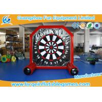 Buy cheap Plato material Inflatable Sport Games / Inflatable Foot Darts For Kids from wholesalers