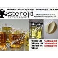 Wholesale Anabolic Mixed Blend Steroid injection Oil Test blend 300 TMT Blend 450/500 Yellow liquid for  for Muscle Gain from china suppliers