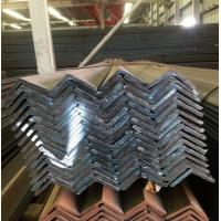 China Black Hot Rolled Mild Steel Angle Bar AISI ASTM Q235 SS400 Standard wholesale
