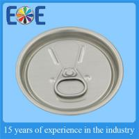 Cheap Customized 206# 57mm Juice  Beverage Can Lids With Gold Inside Lacquer wholesale