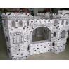 Cheap 3D paper house pop-ups book small run production cutter plotter wholesale