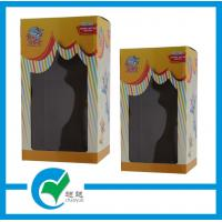 Cheap Personalized Paper Cardboard Packaging Boxes with PET Window wholesale