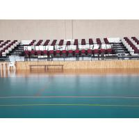 China Foldable Chair Permanent Stadium Seats HDPE Material For Indoor Sport Court wholesale