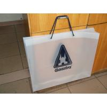 Cheap Fashion Soft Loop Handle Bag , Cotton Rope Handle HDPE Shopping Bag wholesale
