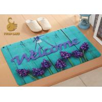 China Eco Friendly Family Outdoor Entry Rugs , Water Absorbing Floor Mats wholesale