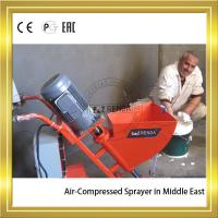 Cheap Air-compressed High Pressure Mortar Sprayer Machine With Power 2.2KW wholesale