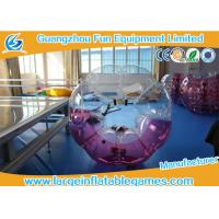 China Popular Size 1.2m / 1.5m /1.8m TPU Inflatable Bubble Football / Soccer For Fun Games wholesale