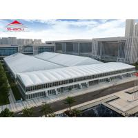 China Dome Roof Double Deck Outdoor Event Tent / Aluminum Party Tents wholesale
