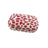 China Leopard Print Hard Contact Lens Carrying Case With Customized Color wholesale