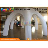 China White Igloo Clear Inflatable Tent For Wedding / Activities / Party wholesale