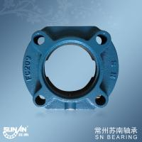 Wholesale Heavy Loading 4 Bolt Flange Bearings , Agricultural Bearing FC209 from china suppliers