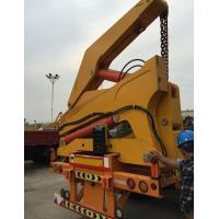 Wholesale 3 Axles Semi Trailer Container Side Loader For Lifting 20ft / 40ft Container from china suppliers