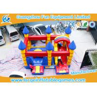 Buy cheap Customized Inflatable Bouncy Castle With Slide Jumping Area For Kids from wholesalers
