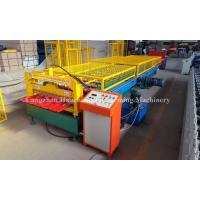 1.0mm Thickness Popular Profile Roofing Roll Forming Machine with Safe Cover