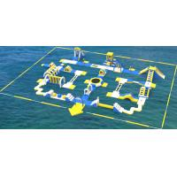 Buy cheap Giant Inflatable Water Park Equipment / Inflatable Sea Water Park For Adults And Kids from wholesalers