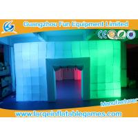 Buy cheap 8.5*6*3M Inflatable Air Tent , Inflatable Colorful Tent With LED Lights from wholesalers