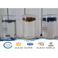 China Paint dust flocculant for Spraying sewage treatment Clear liquid with light blue A B agent wholesale