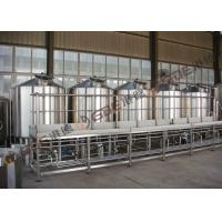 Hotel 50HL / 50 BBL Brewhouse Steam Heated , Professional Brewing Equipment
