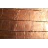 Cheap Copper Foil Covering Asphalt Roofing Shingle , Plane Standard Type Asphalt Roofing Shingles wholesale