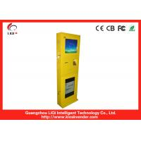 Cheap IP65 Elegant Bill Payment Kiosk Steel Recharging For Mobile Phone wholesale