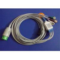 China Spacelabs Ultraview 5 Lead ECG Patient Cable With Lead Wire 17 Pin Connector wholesale