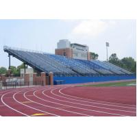 China Long Life Aluminum Stadium Seats Telescopic Seating Systems Wide Flange Steel Shapes wholesale