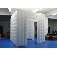 Buy cheap 2.5m RGB LED Light Inflatable Air Tent For Wedding Party / Inflatable Photo Booth from wholesalers