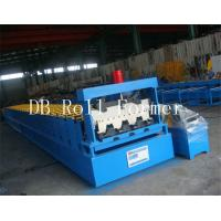 Customized Sheet Metal Decking Roll Forming Machine Controled by PLC System