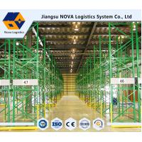 Warehouse Industrial Storage, Q235B Pallet Storage Shelves For Handling Equipment