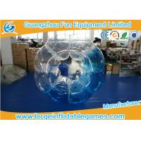China Customized Heat Sealed PVC Inflatable Bubble Ball With Logo Printing wholesale
