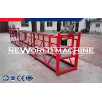 Cheap Customized Steel Wire Rope suspended working platform Painting Or Zinc Galvanized wholesale