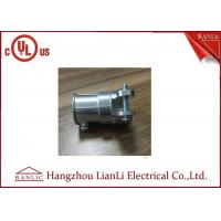 Buy cheap Zinc Material Flexible Conduit Fittings EMT To FMC Type , Screws Connect from wholesalers