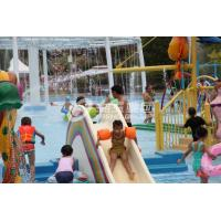 China Fiberglass Water Pool Slides in Medium Water Playground 3200*2700*1300 wholesale