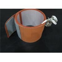 China High Strength Flexible Silicone Heaters , Oil Drum Heater With Thermostat wholesale