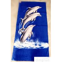 China OEM Personalized Printed Beach Towel , 70*140cm Eco-Friendly Dryfast wholesale