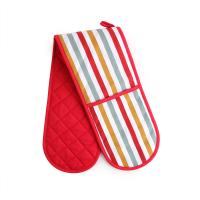 China Professional Cotton Heat Resistant Oven Mitts 17.5 * 80cm For Household wholesale