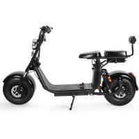 China 60V 12Ah Motorcycle Two Wheel Scooter Electric Citycoco Removable Battery E5-10 wholesale