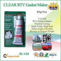 Cheap Waterproof Clear Non-Toxic RTV Silicone Sealant For Glass / Metal / Fabric wholesale