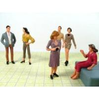 7CM Scale Model Painted People Figures for Building, Shopping Mall Layout Using P25-6