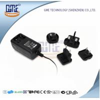 China Wall Mount AC DC Power Adapter 12v 2a With Interchangeable Plugs PSE UL GS Approved wholesale