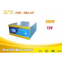 Portable Single Phase Inverter Dc 12v To Ac 220v 500 Watt Off Grid Solar Inverter