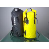 Cheap PVC Tube Bag Waterproof Dry Bags 30L Outdoor Shoulder Backpack Yellow Seal Handbag wholesale