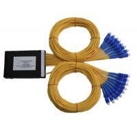 Cheap Various Coupling Ratio PLC Fiber Optic Splitter for System and Signal Monitoring wholesale