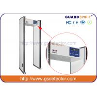 Multi 6 Zones Walk Through Metal Detector Manufacturers For Security Checking