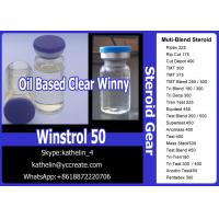 China Steroid Liquid Water Based Oral Milky Winstrol 50 Oil Based Injection Clear Winny 50 For Bodybuilding wholesale