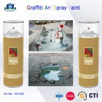 China 400ml Canned Environmental Fast Drying Graffiti Spray Art Paint for Artist On Metal Wood wholesale