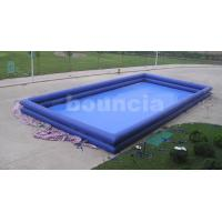 Buy cheap 12mL*8mW*1.3mH Giant Inflatable Water Pool / Inflatabel Ball Pool from wholesalers
